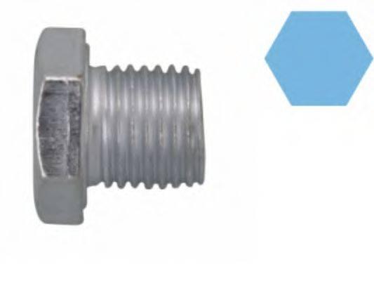 CORTECO 220117S Резьбовая пробка, маслянный поддон
