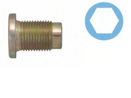CORTECO 220126S Резьбовая пробка, маслянный поддон
