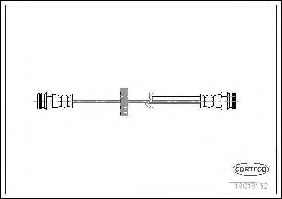 CORTECO 19018132 Тормозной шланг
