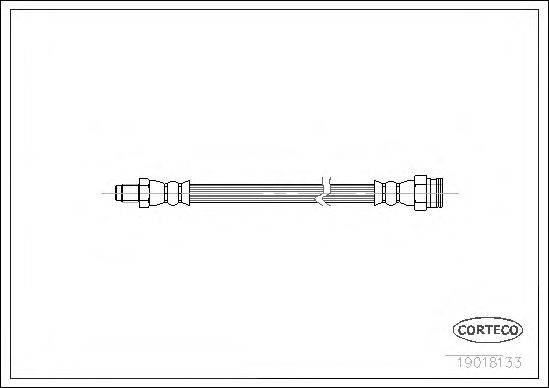 CORTECO 19018133 Тормозной шланг