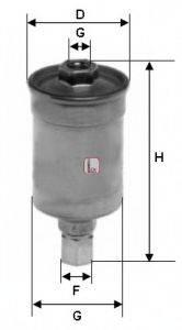 SOFIMA S1511B Топливный фильтр