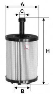 SOFIMA S5023PE Масляный фильтр