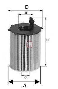 SOFIMA S5068PE Масляный фильтр