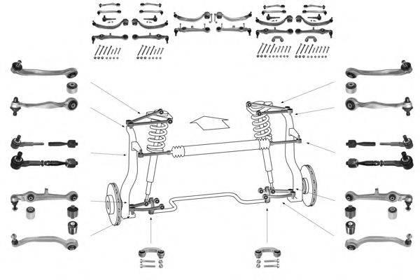 MEYLE WG0189100A Рулевое управление; Подвеска колеса