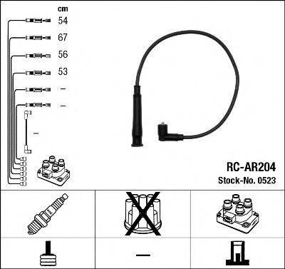 NGK 0523 Комплект проводов зажигания