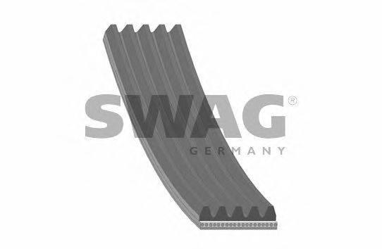 SWAG 30928882 Поликлиновой ремень
