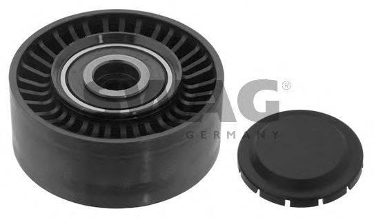 SWAG 30930621 Паразитный / ведущий ролик, поликлиновой ремень
