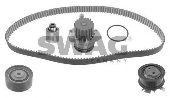 SWAG 30932742 Водяной насос + комплект зубчатого ремня