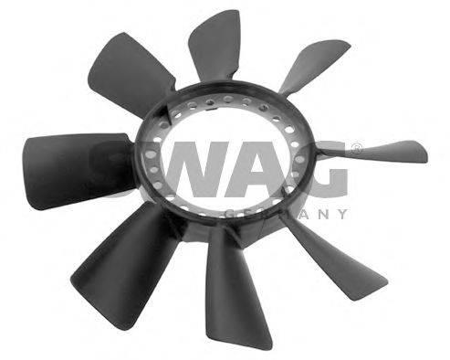 SWAG 30934466 Крыльчатка вентилятора, охлаждение двигателя
