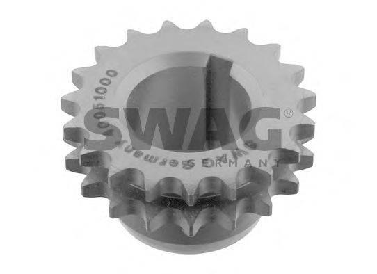SWAG 40051000 Шестерня, коленчатый вал