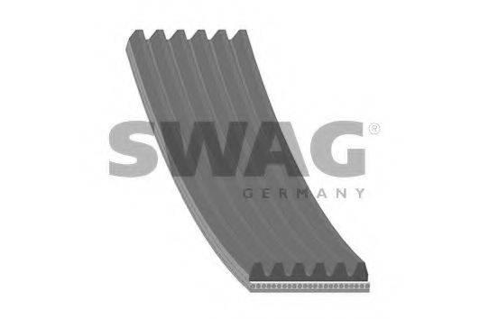 SWAG 60939791 Поликлиновой ремень