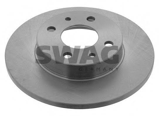 SWAG 70910619 Тормозной диск