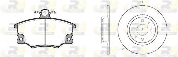 ROADHOUSE 814601 Комплект тормозов, дисковый тормозной механизм