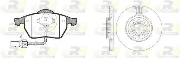 ROADHOUSE 839007 Комплект тормозов, дисковый тормозной механизм