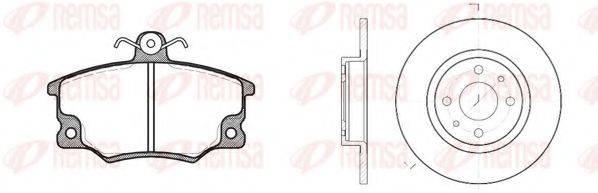 REMSA 814601 Комплект тормозов, дисковый тормозной механизм