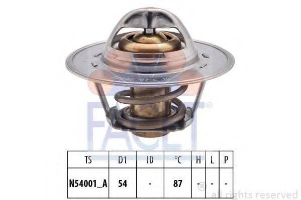 FACET 78547S Термостат, охлаждающая жидкость