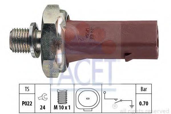FACET 70132 Датчик давления масла