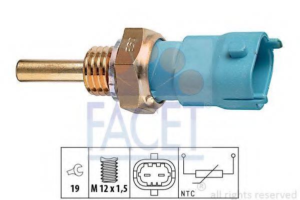 FACET 73239 Датчик, температура охлаждающей жидкости