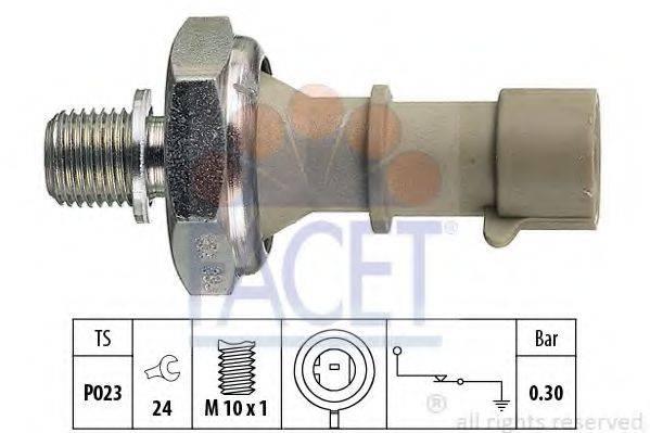 FACET 70162 Датчик давления масла