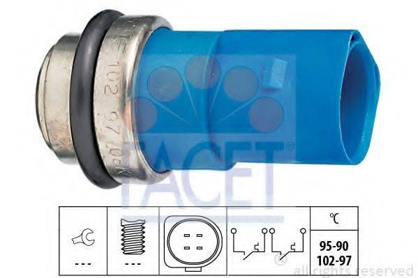 FACET 75692 Термовыключатель, вентилятор радиатора