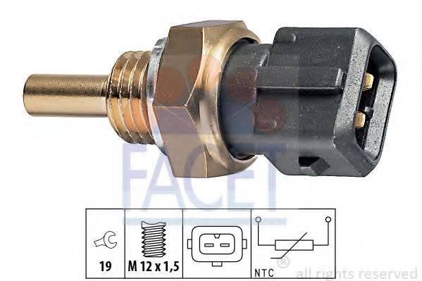 FACET 73157 Датчик, температура охлаждающей жидкости