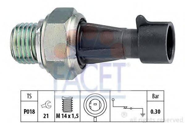 FACET 70096 Датчик давления масла
