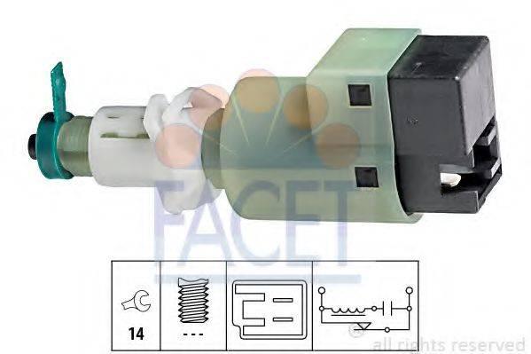 FACET 71145 Выключатель фонаря сигнала торможения