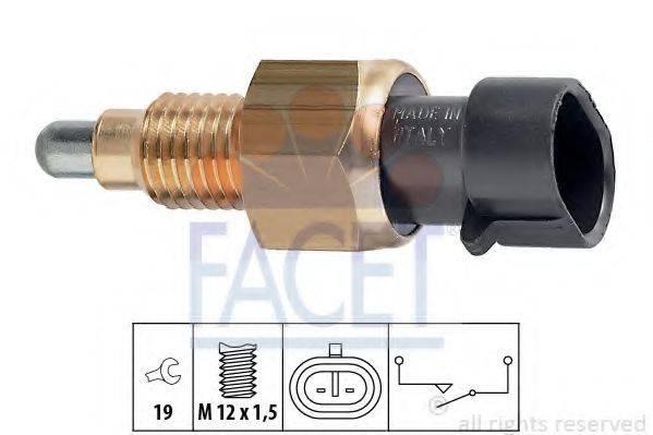 FACET 76073 Выключатель, фара заднего хода