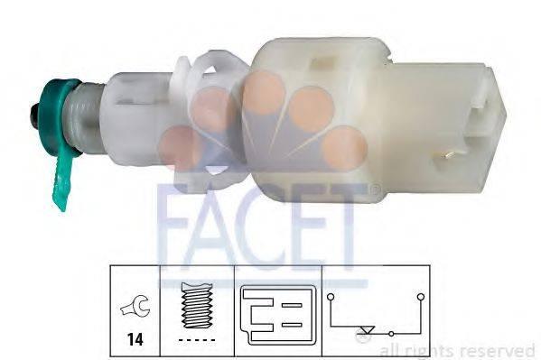 FACET 71127 Выключатель фонаря сигнала торможения