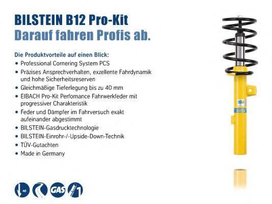 BILSTEIN BIL015339 Комплект ходовой части, пружины / амортизаторы