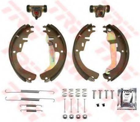 TRW BK1605 Комплект тормозных колодок