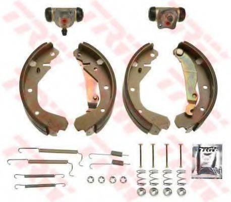 TRW BK1608 Комплект тормозных колодок