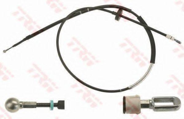 TRW GCH3006 Трос, стояночная тормозная система
