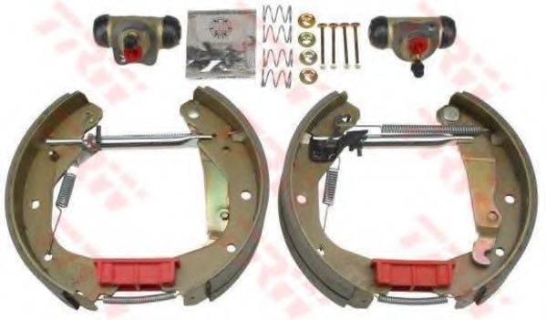 TRW GSK1608 Комплект тормозных колодок