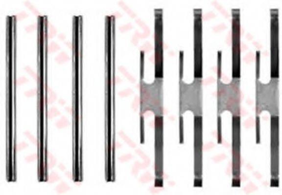 TRW PFK174 Комплектующие, колодки дискового тормоза