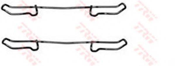 TRW PFK241 Комплектующие, колодки дискового тормоза