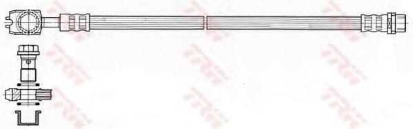 TRW PHD484 Тормозной шланг