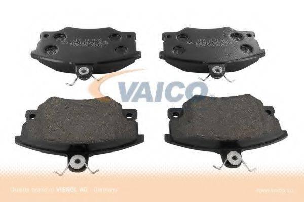 VAICO V240063 Комплект тормозных колодок, дисковый тормоз