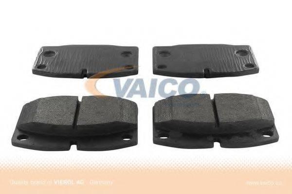 VAICO V408018 Комплект тормозных колодок, дисковый тормоз
