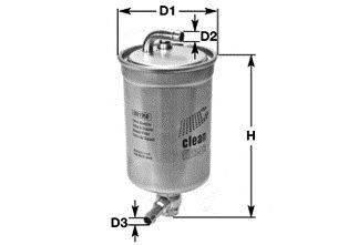 CLEAN FILTERS DN1950 Топливный фильтр
