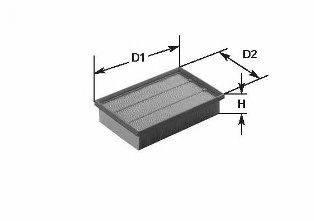CLEAN FILTERS MA434 Воздушный фильтр