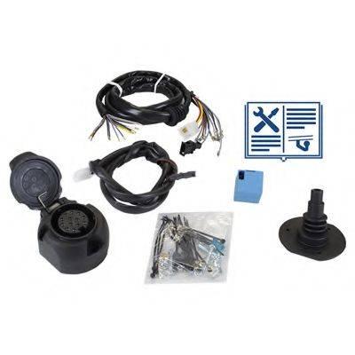 RAMEDER 107340 Комплект электрики, прицепное оборудование