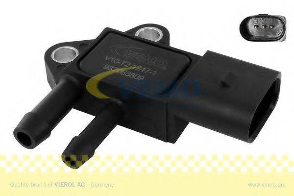 VEMO V107212471 Датчик, давление выхлопных газов