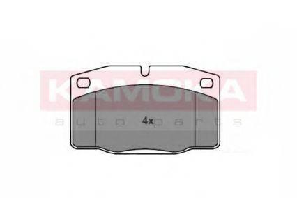 KAMOKA JQ101346 Комплект тормозных колодок, дисковый тормоз