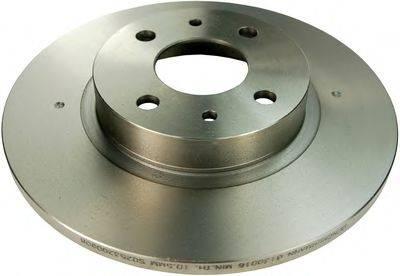 DENCKERMANN B130016 Тормозной диск