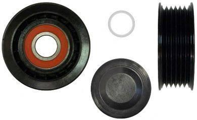 DENCKERMANN P300001 Паразитный / ведущий ролик, поликлиновой ремень