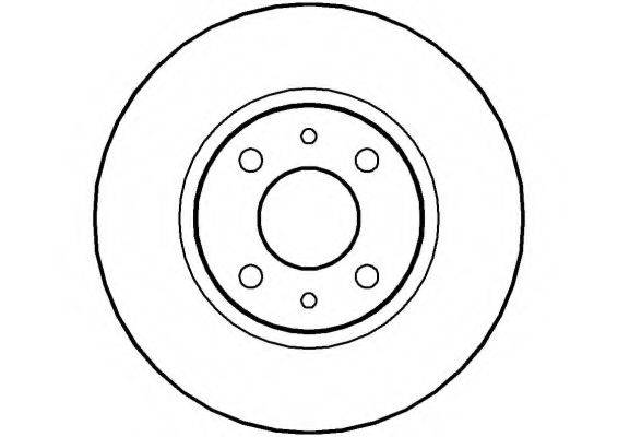 NATIONAL NBD189 Тормозной диск
