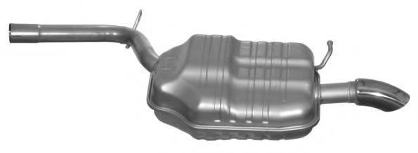 IMASAF 132267 Глушитель выхлопных газов конечный