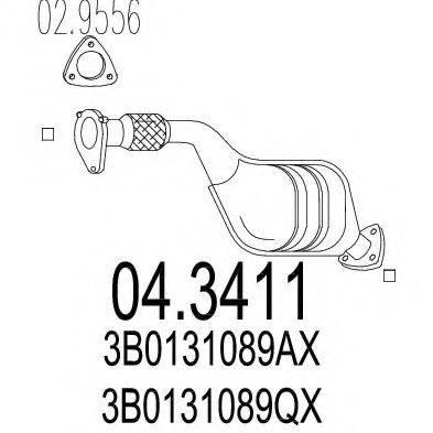 MTS 043411 Катализатор