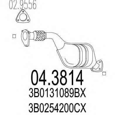 MTS 043814 Катализатор